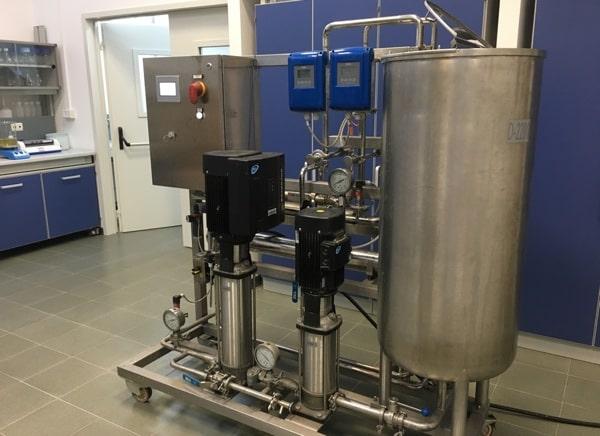 Tecnologia a membrane ENEA Brindisi per il trattamento di acque reflue