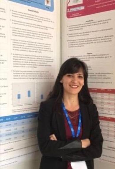 la dott.ssa Raffaella Onori al Congresso Nazionale Spagnolo (SEIMC)