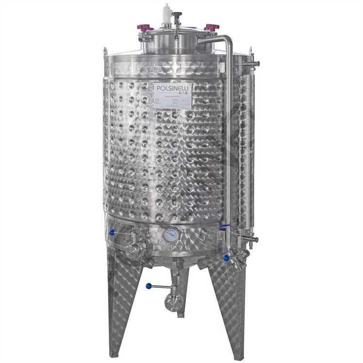 fermentatore tronco-conico polsinelli