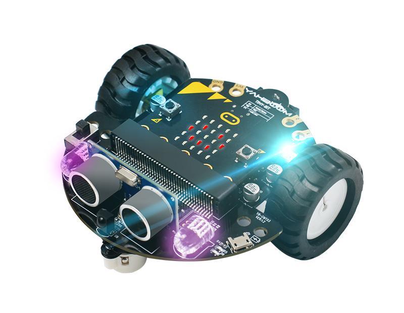 מכונית רובוטית Yahboom למיקרוביט