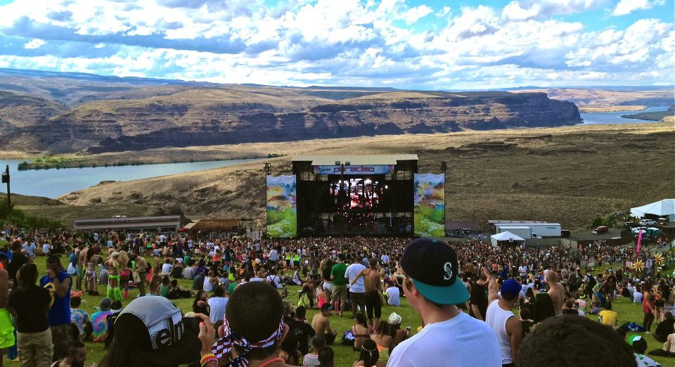 Image result for gorge amphitheatre
