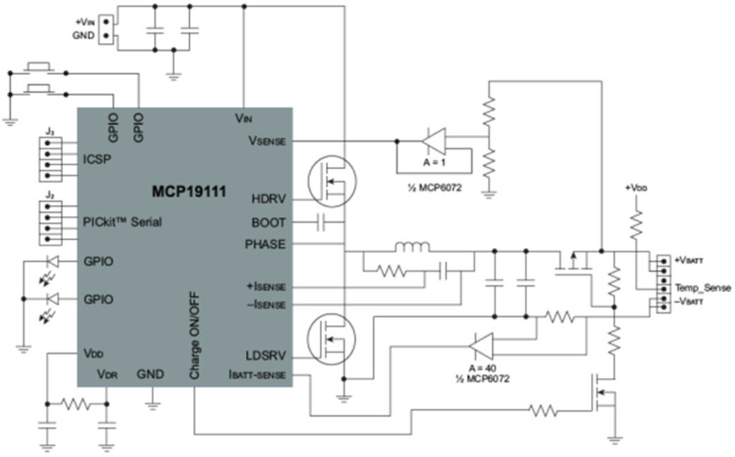 Battery Management Controllers   Charging, LiIon   Microchip Technology