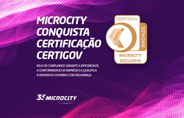 Microcity recebe certificação Certigov