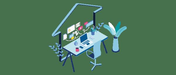 Melhoria na produtividade no home office