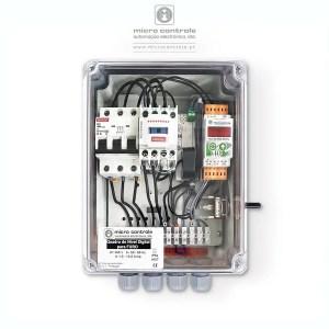 Quadro de Nível Digital para furo - Vista de Topo | Microcontrole - Automação Eletrónica