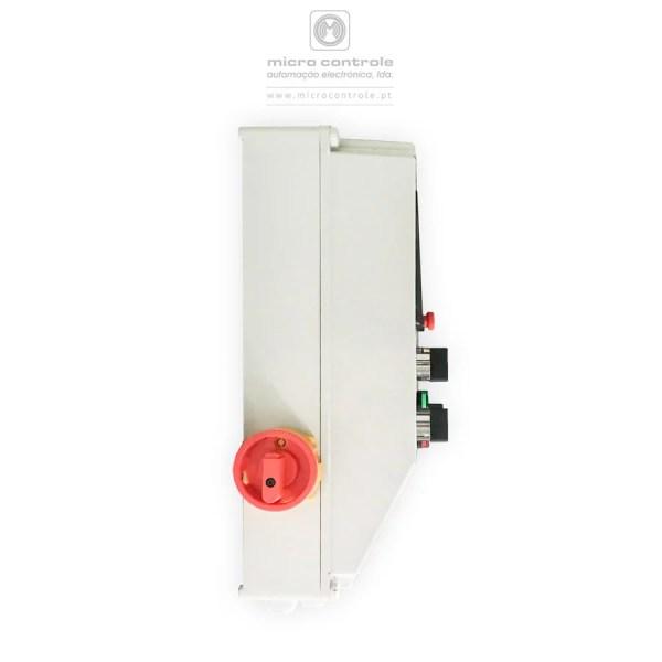 Quadro elétrico de alternância para saneamento