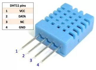 Arduino DHT11 szenzor - Sima