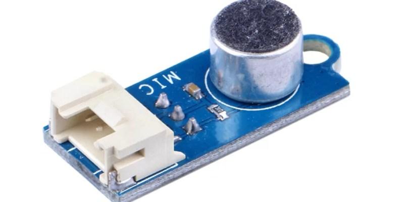 LED villogás hangvezérléssel