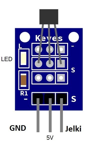 KY-002 mágnesesség érzékelő