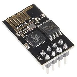 ESP8266 wifi modul + USB to TTL adapter