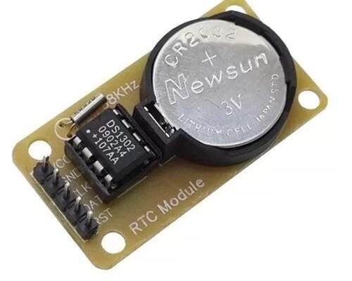Arduino - DS1302 - RTC modul