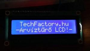 LCD + ékezetes karakterek
