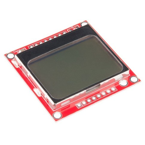 Nokia 5110 LCD Kijelző - Piros