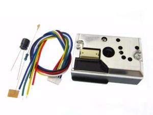 Optikai szállópor érzékelő - GP2Y1010AU0F - PM 2.5