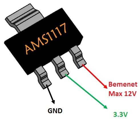 AMS1117 Schematic