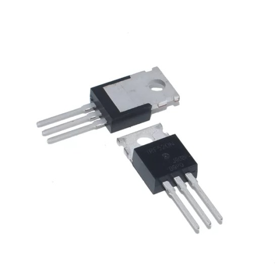 IRF520 - N csatornás MOSFET