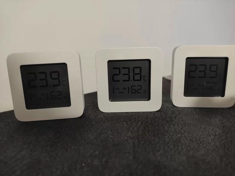 ESP32 és Xiaomi Mijia hőmérséklet és páratartalom érzékelő