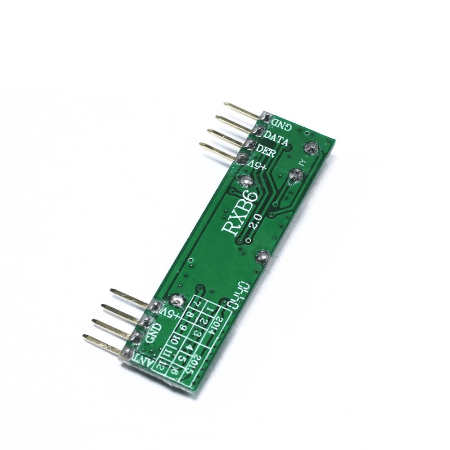 RXB6 - 433 MHz-es szuperheterodin vevő modul