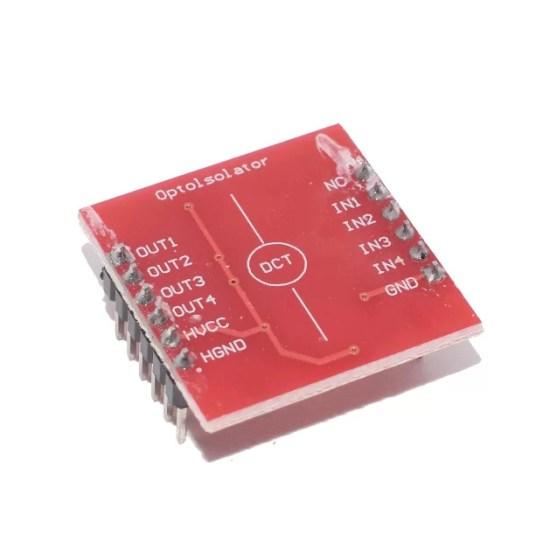TLP281 - 4 csatornás optocsatoló