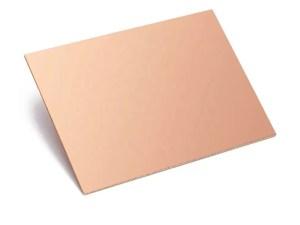 10x7.5 cm - FR4 -Kétoldalas Nyáklap