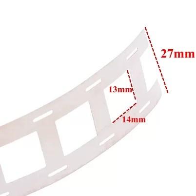 Nikkel szalag - Dupla - 1m