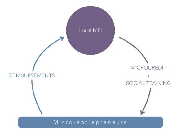 Schéma Microcrédit 1 2 EN