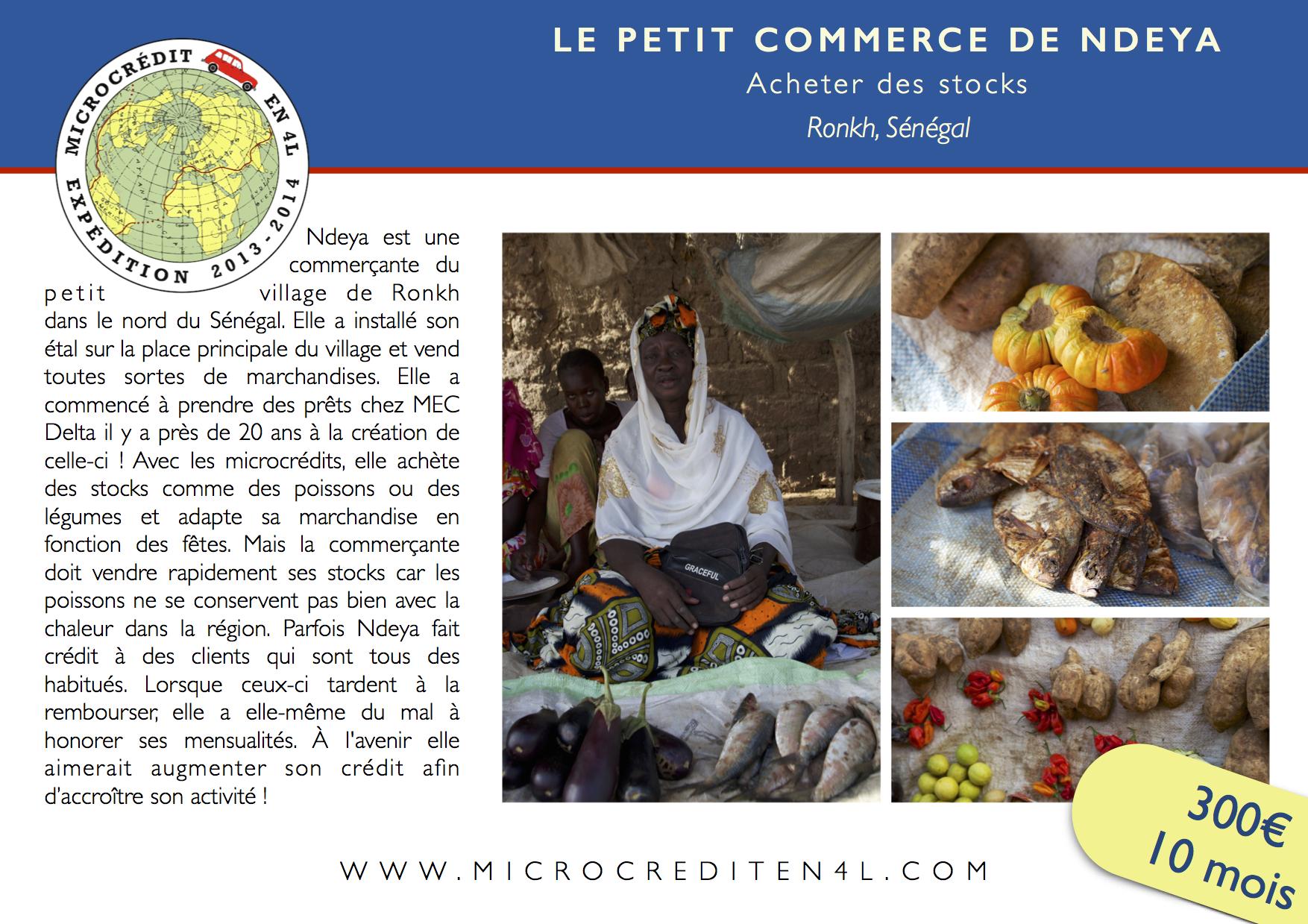 Le Petit Commerce de Ndeya
