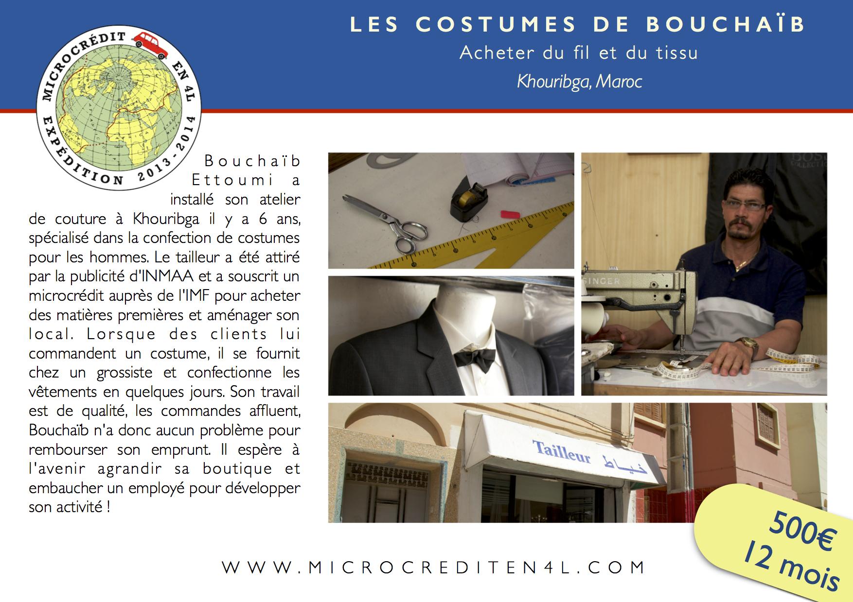 Les Costumes de Bouchaïb
