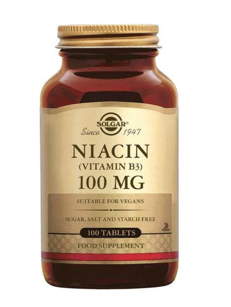 Solgar Niacin Vitamin B3
