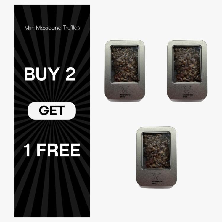 buy 2 truffles get 1 free
