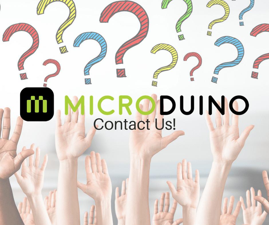 Microduino - Contact us - Microduino