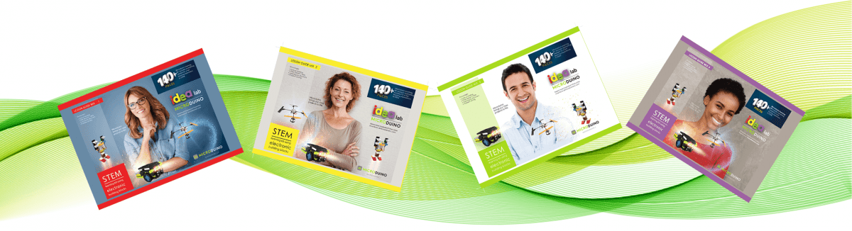 Microduino STEM educational products 4 Stem Mix kits