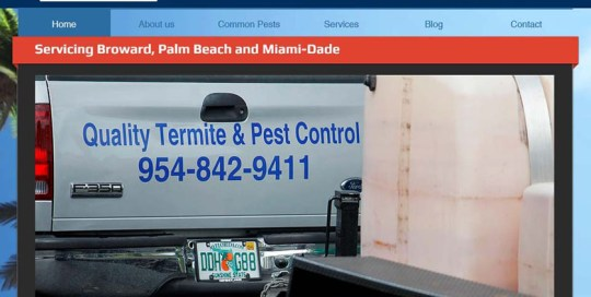 Quality Termite and Pest Control