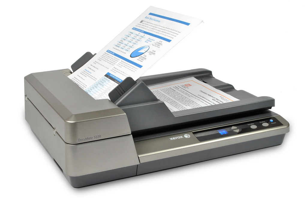 electronic document scanner from Microfile