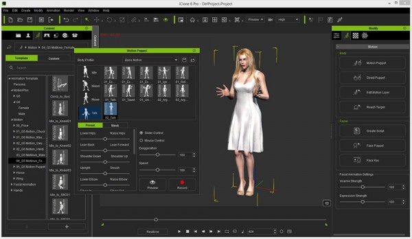 IClone 6 Pro Character Creator Software Review