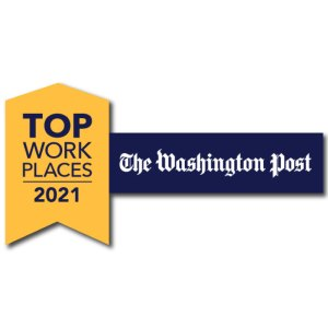 The Washington Post Top Workplaces 2021