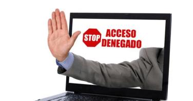 Geobloqueo aplicado por empresas o ISP a servicios locales.