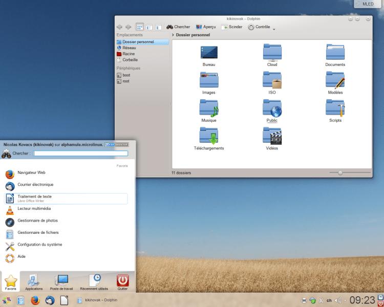 MLED 7 KDE