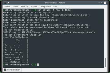 Génération de clé SSH
