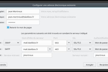 Mozilla Thunderbird SSL/TLS