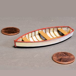 O scale Rowboat