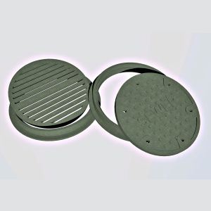 HO Slotted Drain/Sewer Manhole Covers