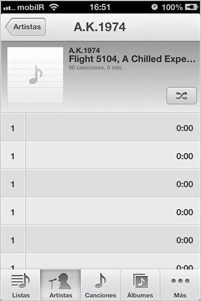 Canciones extremadamente cortas