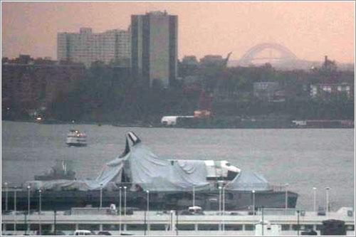 Enterprise tras el Sandy