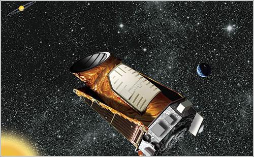 Kepler en órbita - NASA