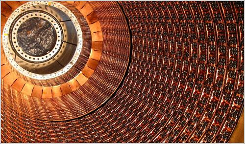 Calorimetro del instrumento ATLAS - Roy Langstaff, © CERN