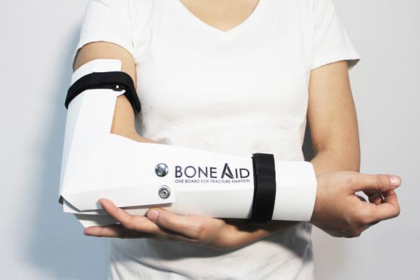 Papiroflexia para inmovilizar brazos o piernas fracturadas