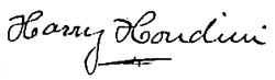 Houdini-Firma