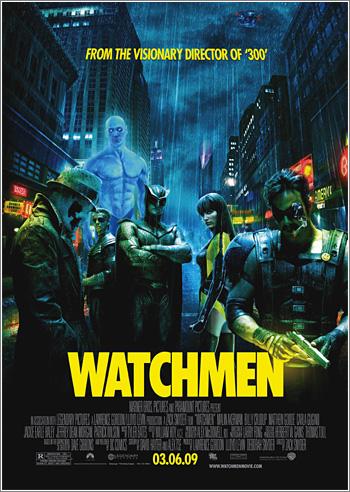 Watchmen, la película: póster definitivo