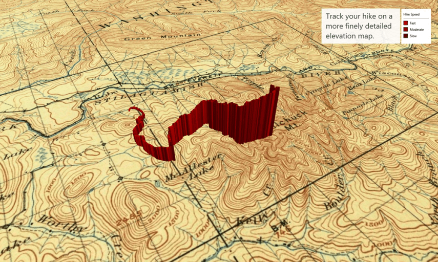 6 cool ways to use Custom Maps   Microsoft 365 Blog The first example in the video shows how you can plot geographical data on  a USGS Historical Topographic Map  The map shows the GPS coordinates from a